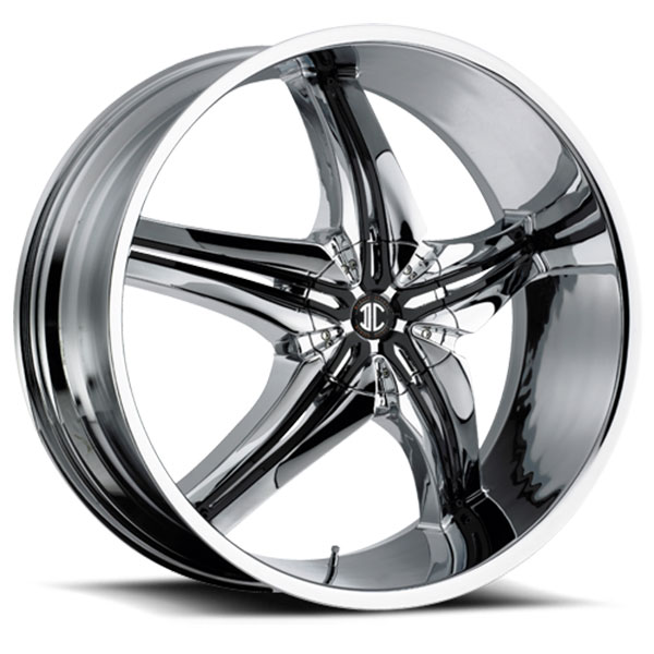 2 Crave No.15 Chrome with Gloss Black Inserts A