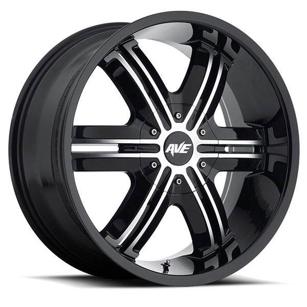 Avenue 612 Gloss Black with Machined Face