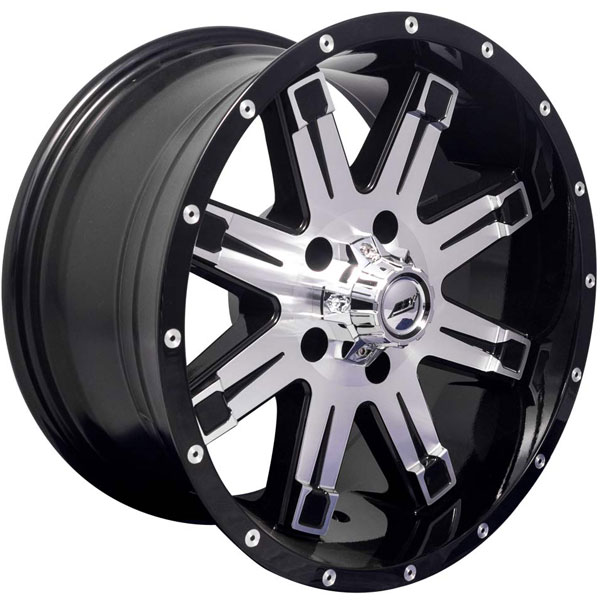 BBY Offroad 01 Byte Black with Machined Face