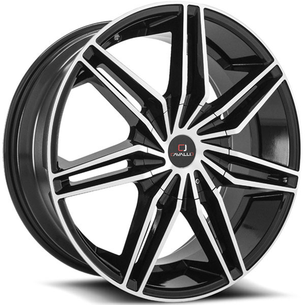 Cavallo CLV-19 Gloss Black Machined