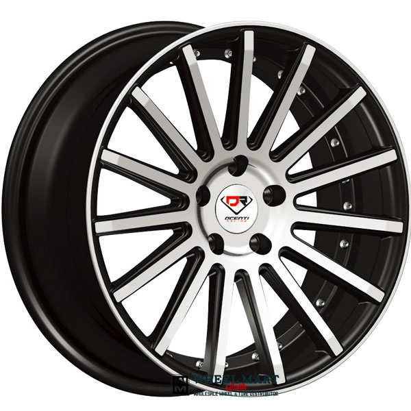 Dcenti Racing DCTL008 Black with Machined Face
