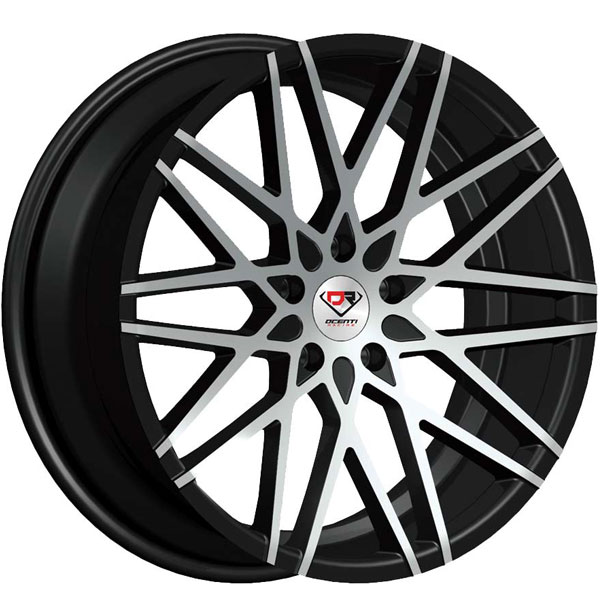 Dcenti Racing DCTL042 Black with Machined Face