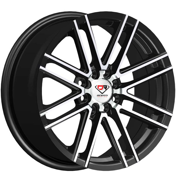 Dcenti Racing DCTL045 Black with Machined Face