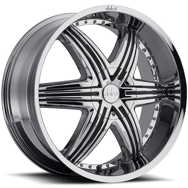 Dolce DC48 Chrome with Black Inserts
