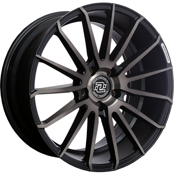 Drag Concepts R32 Satin Black with Black Clear Coat
