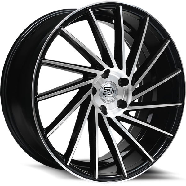 Drag Concepts R36 Gloss Black with Machined Face