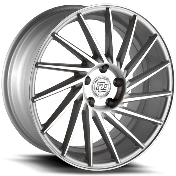 Drag Concepts R36 Silver with Machined Face