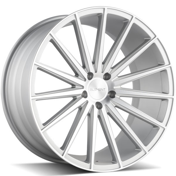 Element EL48 Silver with Machined Face