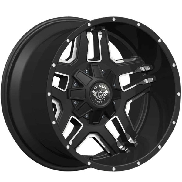 Gima Rover Black with Machined Face