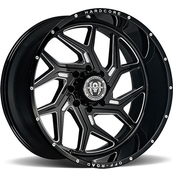 Hardcore Off-Road HC12 Gloss Black Milled