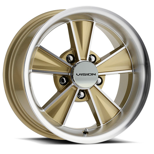 Hurst HT324 Dazzler Gold Mirrored with Machined Face