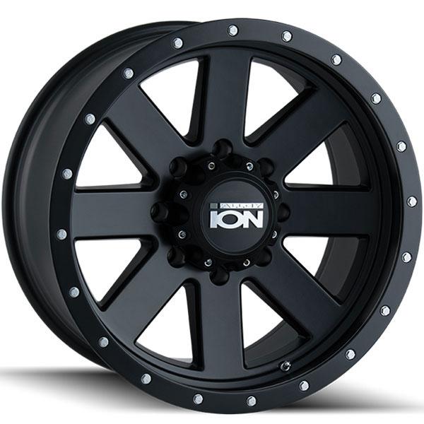 Ion Alloy 134 Matte Black with Black Beadlock