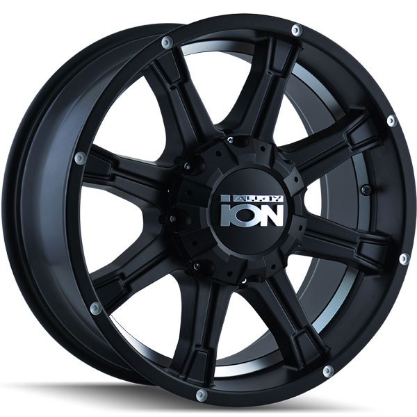 Ion Alloy 196 Matte Black with Machined Face and Machined Under-Cut