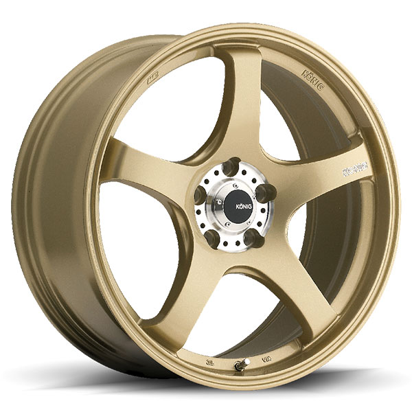 Konig Centigram Gold with Machined PCD