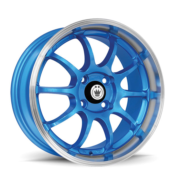 Konig Lightning Blue with Machined Lip