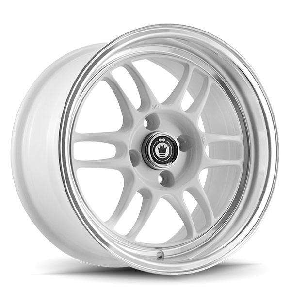 Konig Wideopen White with Machined Lip