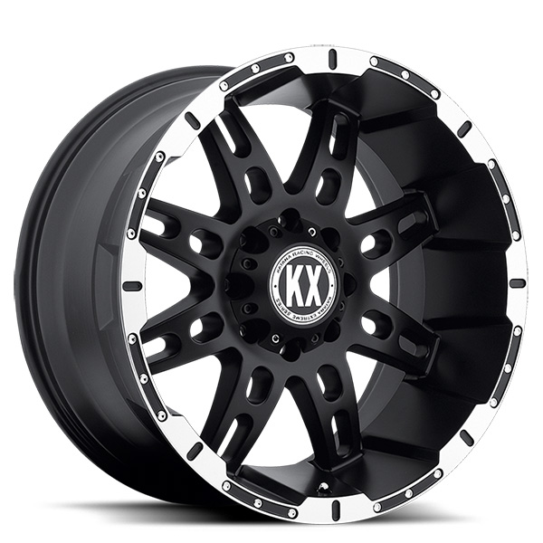KX CP34 Black with Machined Lip