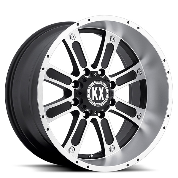 KX CP71 Matte Black Machined