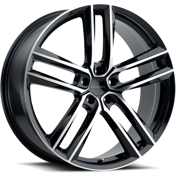 Milanni 475 Clutch Gloss Black with Machined Face