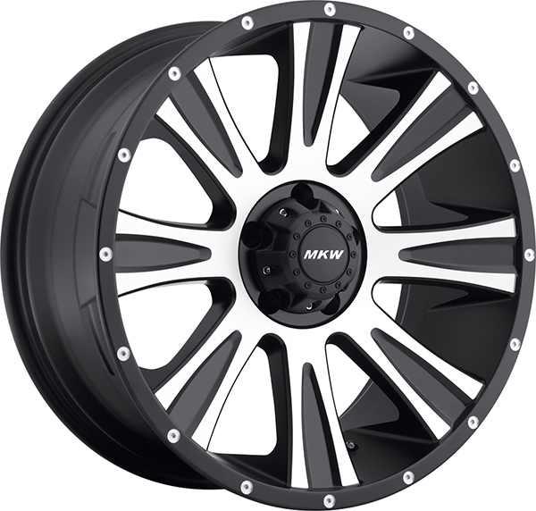 MKW M87 Black with Machined Face