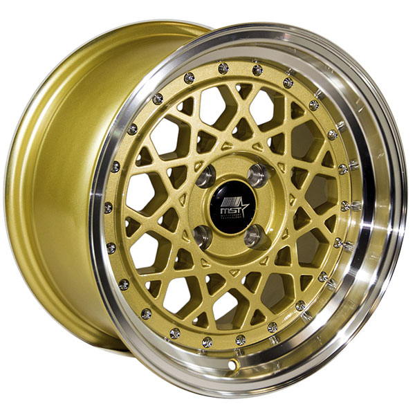 MST Fiori Gold with Machined Lip