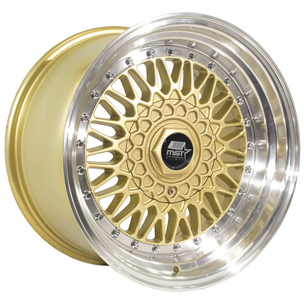 MST MT13 Gold with Machined Lip