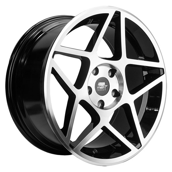 MST MT26 Black with Machined Face