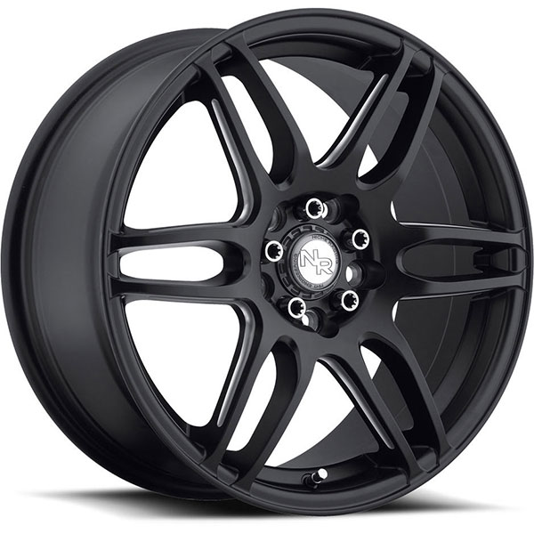 Niche NR6 M106 Stone Black with Milled Spokes