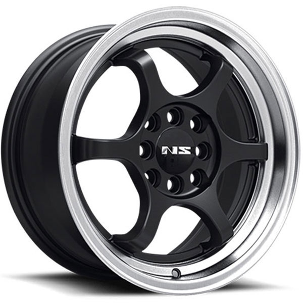 NS Series NS1202 Black with Machined Lip