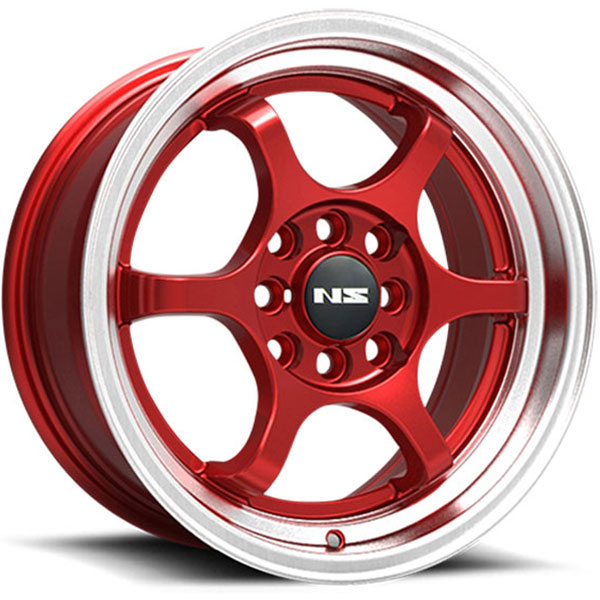 NS Series NS1202 Red with Machined Lip