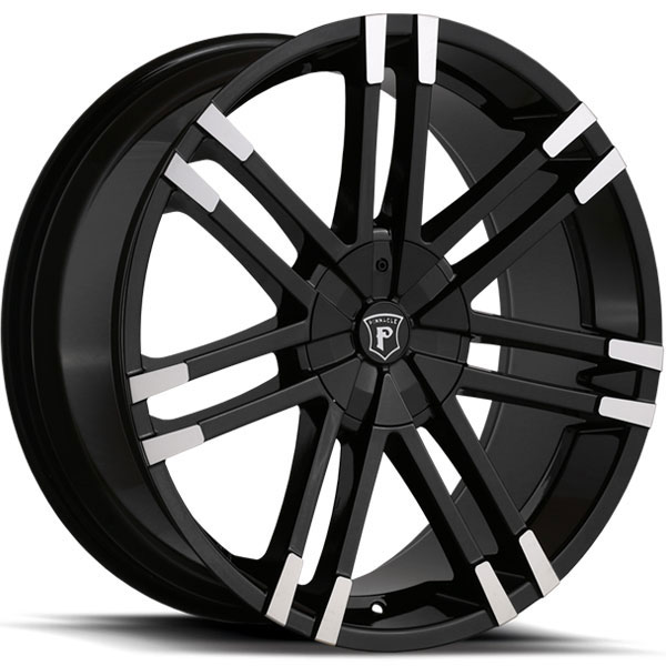Pinnacle P88 Valenti Gloss Black with Machined Tips