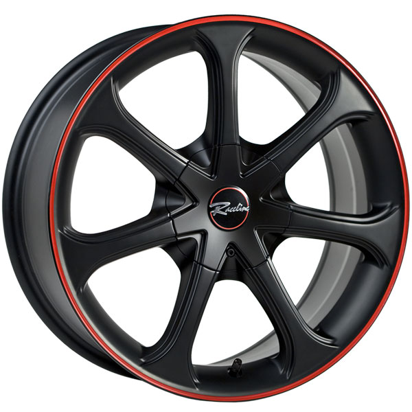 Raceline 197 Black with Red Stripe