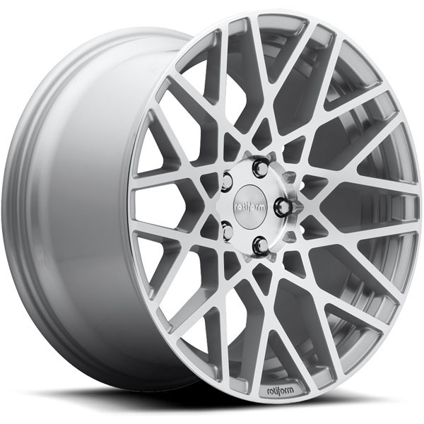 Rotiform BLQ Silver with Machined Face
