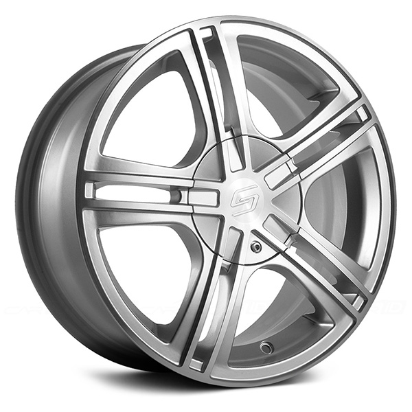 Sacchi S62 Hyper Silver with Machined Face