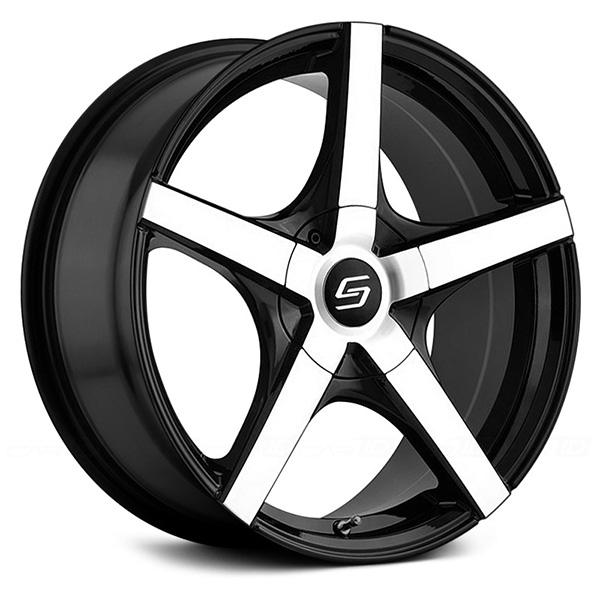 Sacchi S72 Black with Machined Face