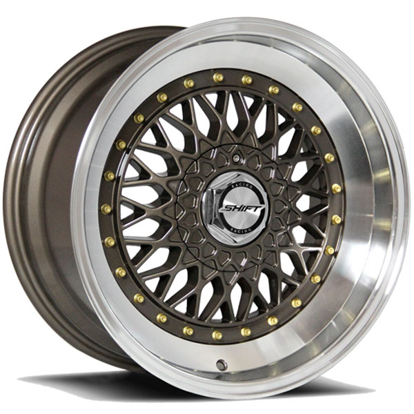 Shift Clutch Bronze with Polished Lip