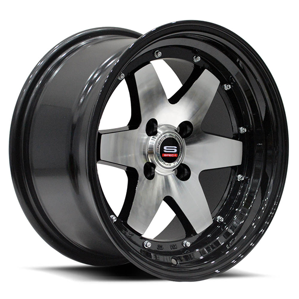 Spec-1 SPT-19 Gloss Black with Machined Face
