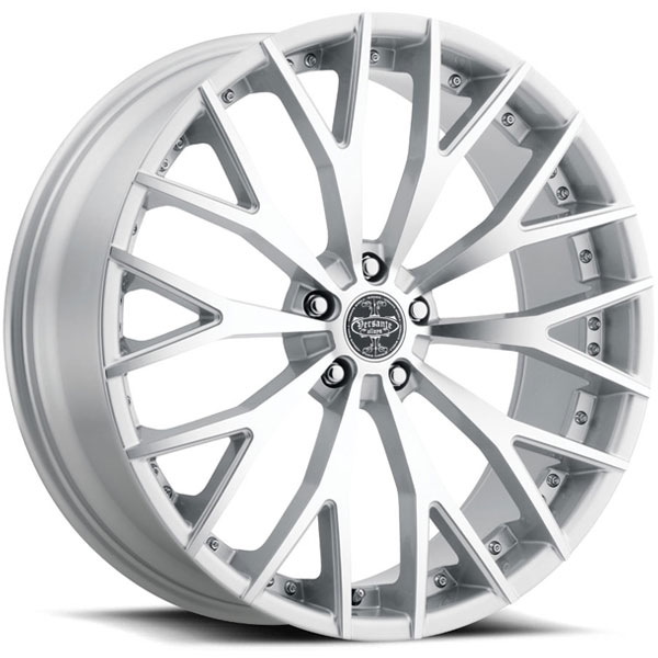 Versante 240 Silver with Machined Face