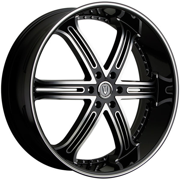 Versante 226B Black with Machined Face
