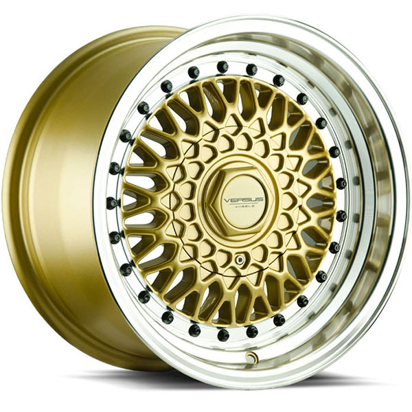 Versus VS218 Gold with Machined Lip