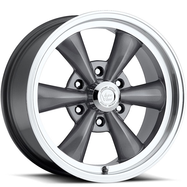 Vision 141 Legend 6 Gunmetal with Machined Lip
