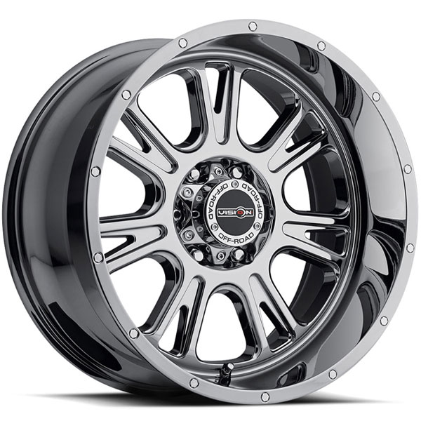Vision 399 Fury Phantom Chrome Concave