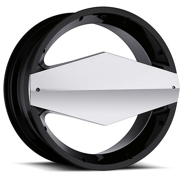 Vision 449 Morgana Gloss Black with Chrome Cap
