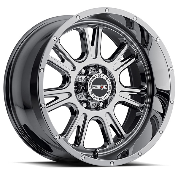 Vision Off-Road 399 Fury Phantom Chrome Concave