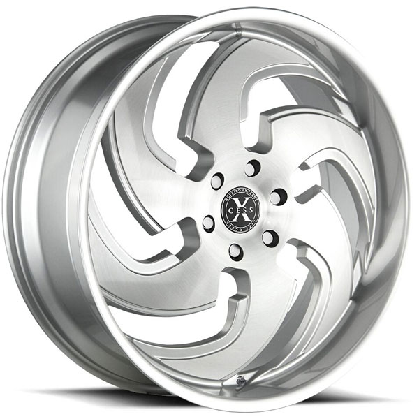 Xcess X03 Silver with Brushed Face